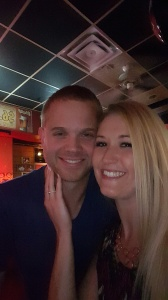First engaged selfie!